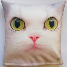 205 3D Minder Kılıfı Yeşil Gözlü Kedi